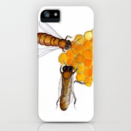 Worker Bees iPhone Case