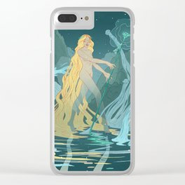Nymph of the river Clear iPhone Case