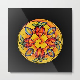 Blooming Realization Metal Print