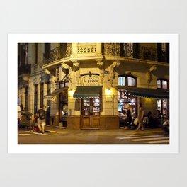 La Poesia, San Telmo, Buenos Aires  Art Print