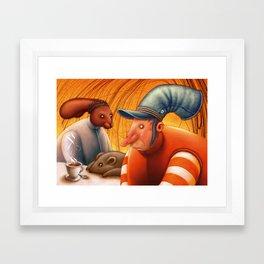 Mad Tea Party Framed Art Print