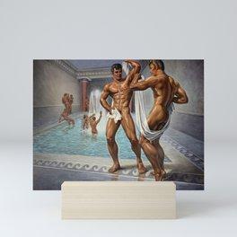 Bathhouse Boys Mini Art Print