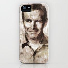 Charlton Heston, Hollywood Legend iPhone Case