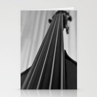 cello Stationery Cards featuring Cello by Anne Seltmann