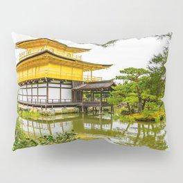 Kinkaku-ji, the golden pavilion, Kyoto Pillow Sham