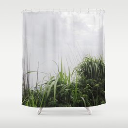 Nostalgia-Home Grass Shower Curtain