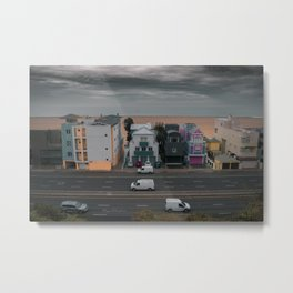 Pacific Coast Hwy veiw from santa monica Metal Print