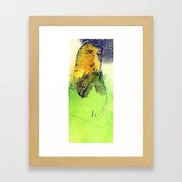 """ Coo Coo You're My Favorite Angela"" Framed Art Print"