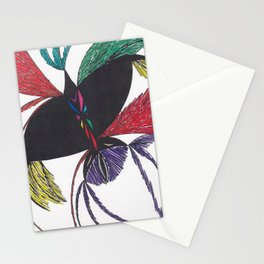 A Colorful Flight Stationery Cards