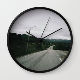 Road to Northcape Wall Clock