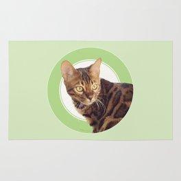 Boris the cat - Boris le chat Rug