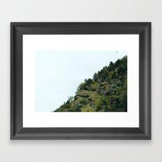 french pyrenees 04 Framed Art Print