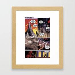 Cathair Apocalypse 01-11 Framed Art Print