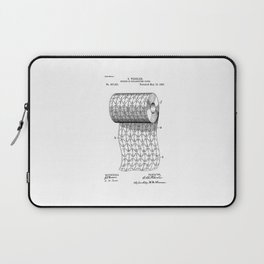 patent art Wheeler Process of ornamenting paper 1893 Laptop Sleeve