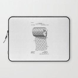 patent art Wheeler Process of ornamenting paper 1893 Laptop Sleeve