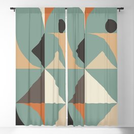 Mid Century 07C Blackout Curtain
