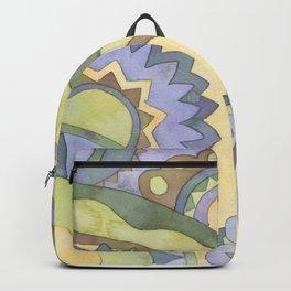 Mandala Circus2 Backpack