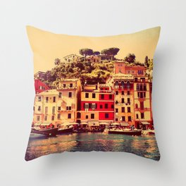 Buongiorno Portofino! Throw Pillow