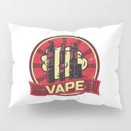 Vape Propaganda | Vaper Vaping E-Cigarette Pillow Sham