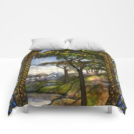 Louis Comfort Tiffany - Decorative stained glass 14. Comforters