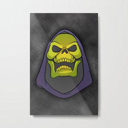 "Masters of the Universe Skeletor ""Evil inside"" Metal Print"