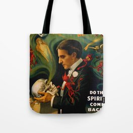 Thurston The Great Magician - Spirits Tote Bag