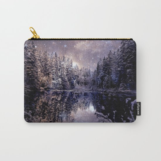 A Cold Winter's Night Neutral Carry-All Pouch