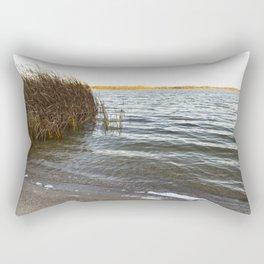 Autumn Lakeshore 3 Rectangular Pillow