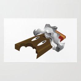 Chocolate Bar - Bite Rug