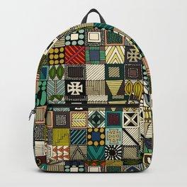 wolf geo Backpack