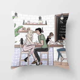 The Third Place Throw Pillow