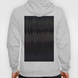 The secret forest at night - Abstract dark tree pattern Hoody