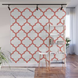 Living Coral Domes Pattern Wall Mural