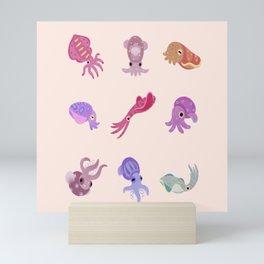 Squids Mini Art Print