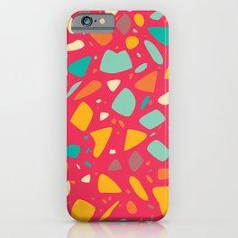 Terrazzo 043 iPhone Case