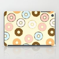 donuts iPad Cases featuring Donuts by Sara Showalter