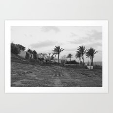 House on the hill Art Print
