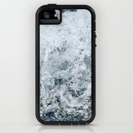 Waves lap at the shore iPhone Case