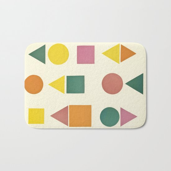 Shape Sorter Bath Mat