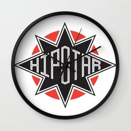 Hipstar Wall Clock