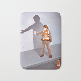 Mandatory Tipping (The Checkpoint) Bath Mat
