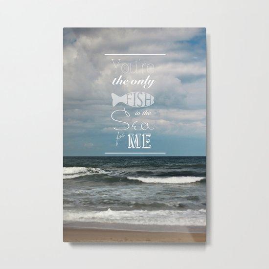 In the Sea Metal Print