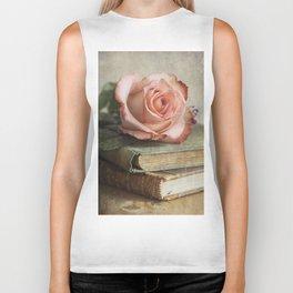 Smell of fresh rose Biker Tank