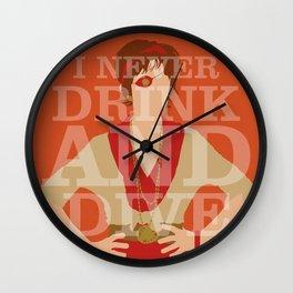 Pushing Daisies - Lily Wall Clock