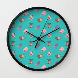 Animals Revenge Wall Clock