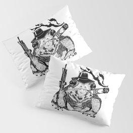 Boss Frog Pillow Sham