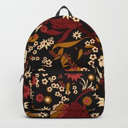 Australian Natives Red Blossom Backpack