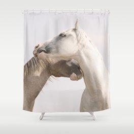 Horse Friends Shower Curtain