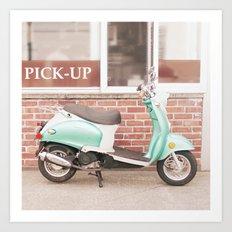 A Sweeter Ride Art Print