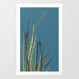 Reed on the Lake Art Print